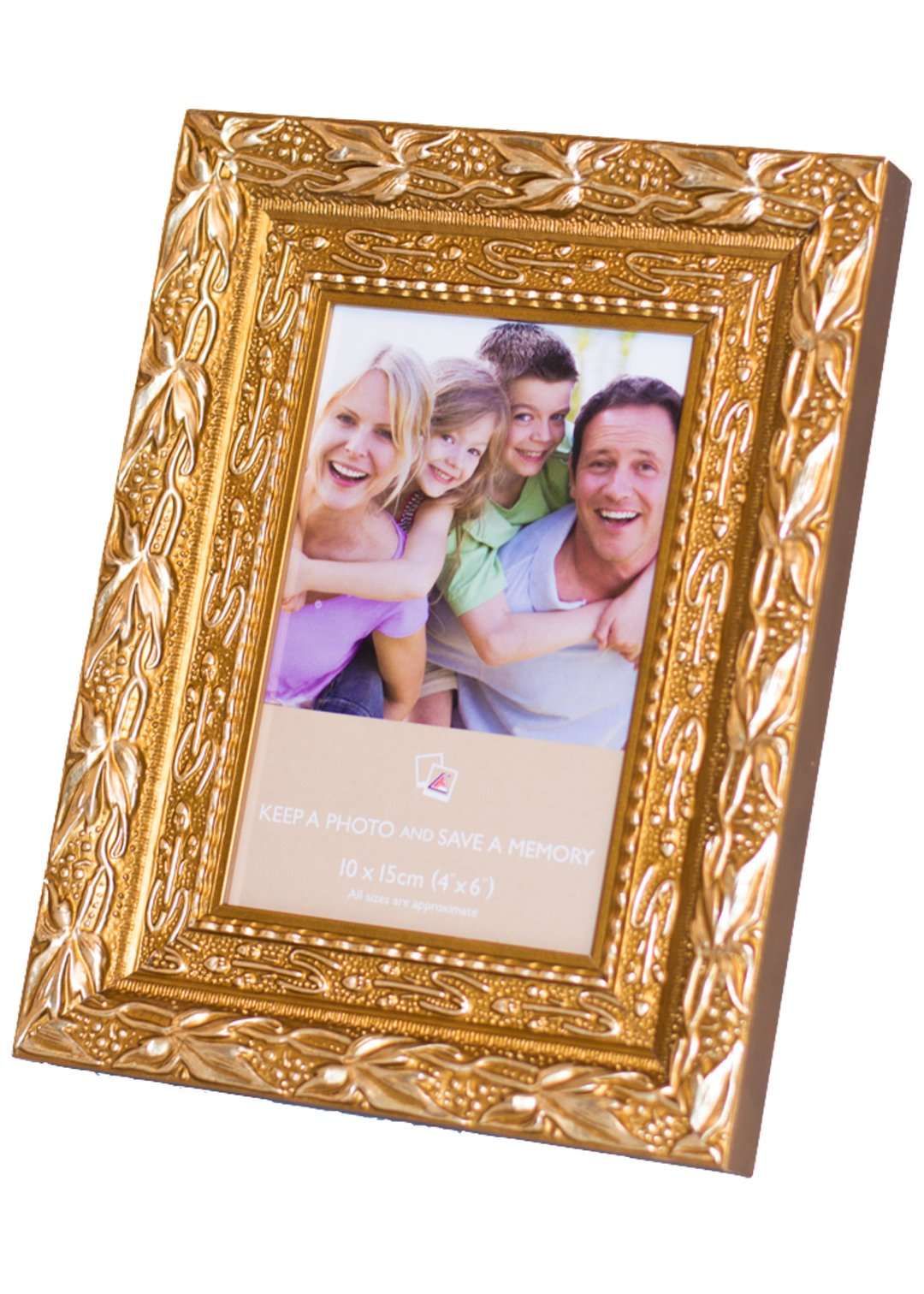 Ready Made Frames : Ready made sunkissed gold picture frames from £ at
