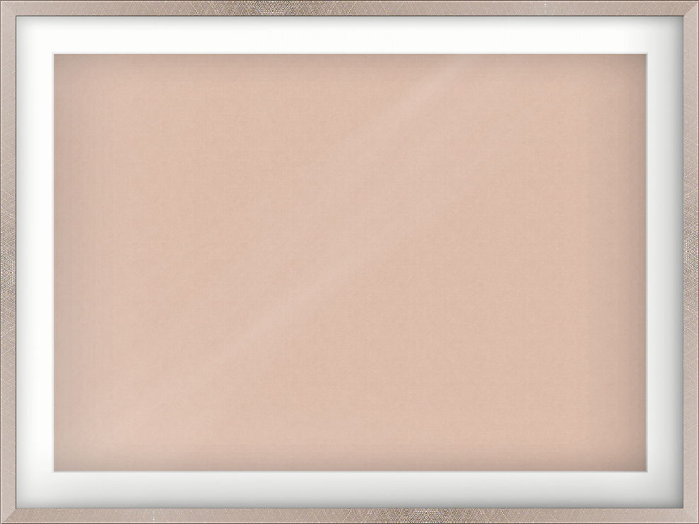 841mm x 594mm Silver Flat Picture Frame (446400000)