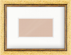 31mm Gold Leaf Flat Picture Frame