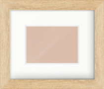 35mm Oak Effect Flat Picture Frame