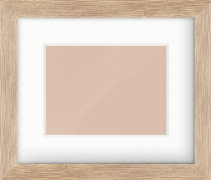 34mm Oak Flat Picture Frame