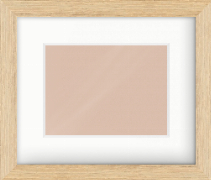 33mm Oak Effect Flat Picture Frame