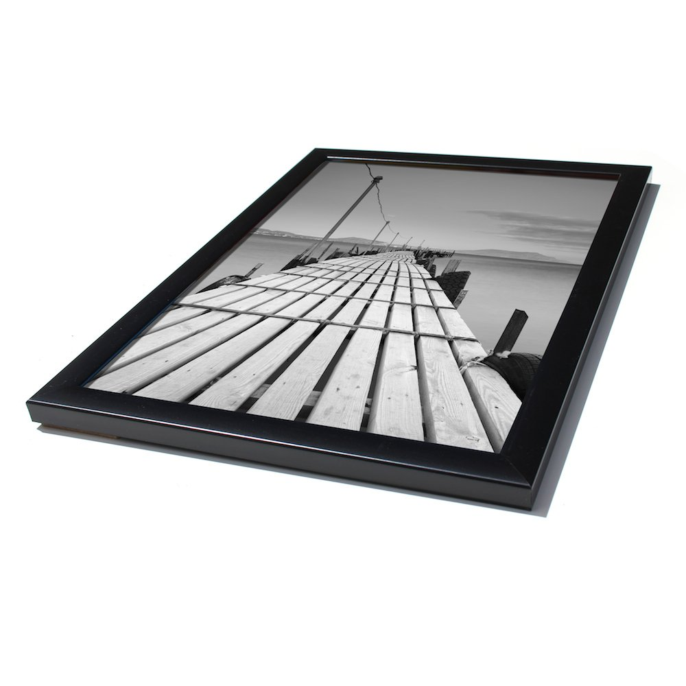 Ready Made Frames : Ready made black picture frames from £ at